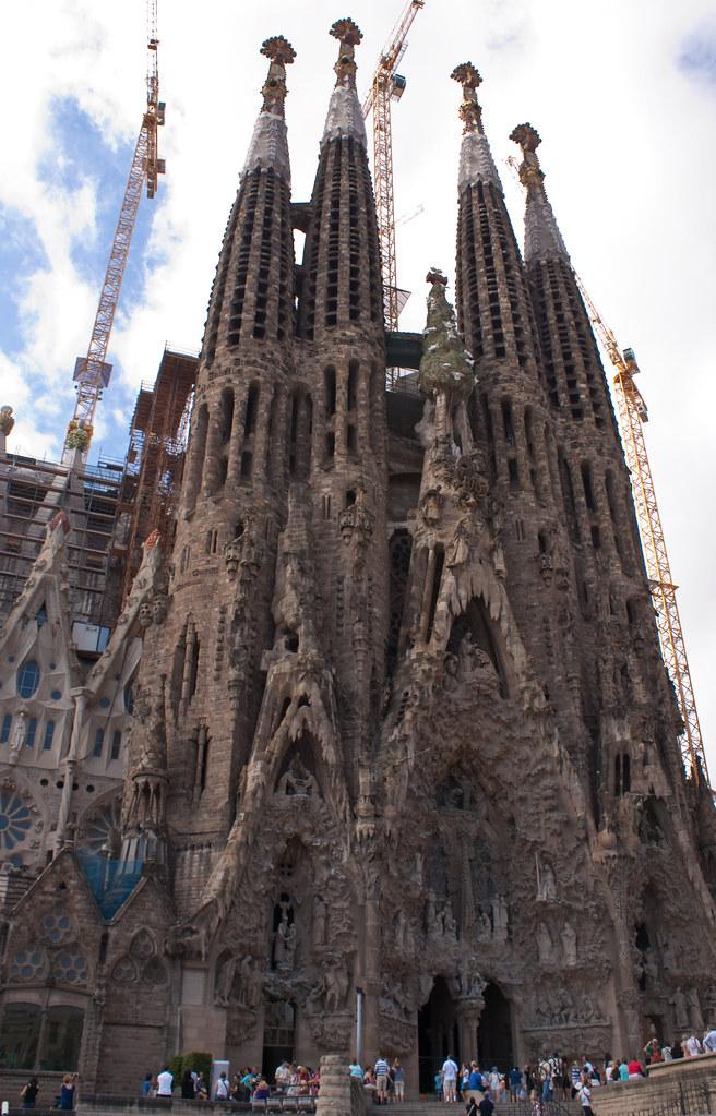 Sagrada Familia   Creation facade