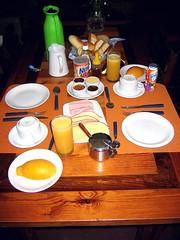 El desayuno en Casa Aurea