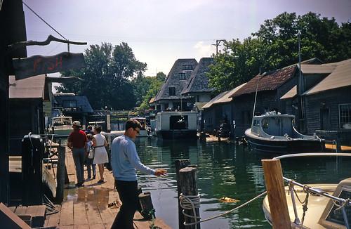 Leland's Fishtown, 1973