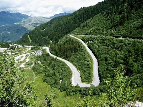 Near top of Les Arcs 2000