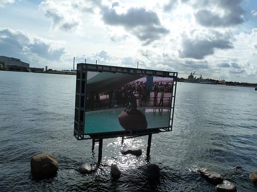 人魚像は上海万博にお出かけ中