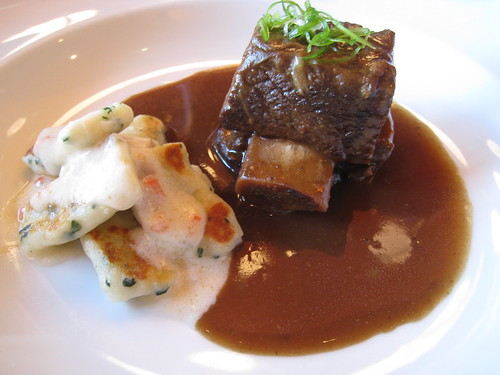 Bison Shortrib and Coconut Gnocchi
