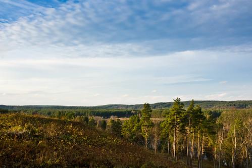 Vaizdas nuo piliakalnio | View from mound