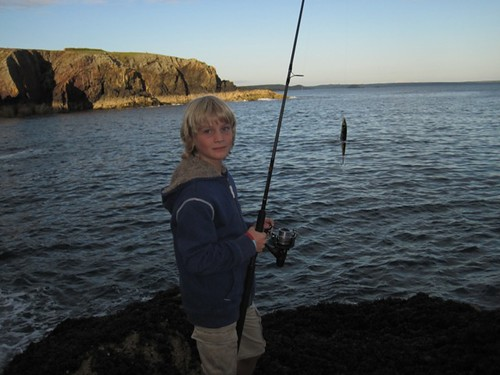 Billy Porth Clais Rock Fishing