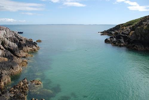 Porth Clais Harbour Inlet