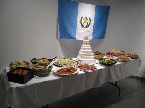 Guatemalan table