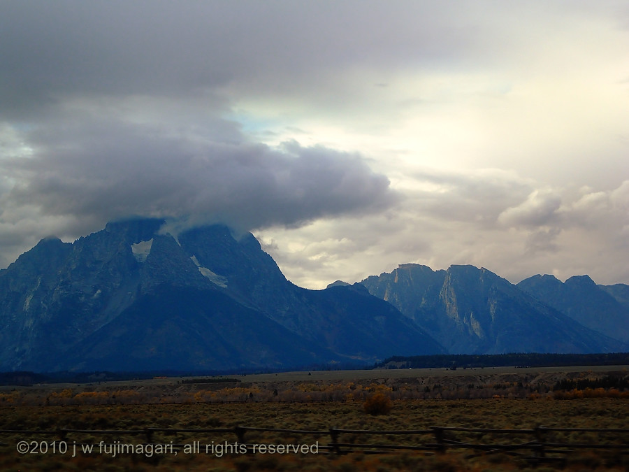 Clouds Over Grand Teton