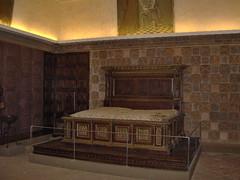Ricostruzione della camera d'oro