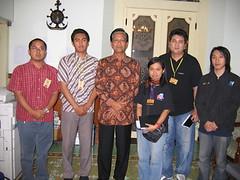 Tim Sonora bersama Sri Sultan
