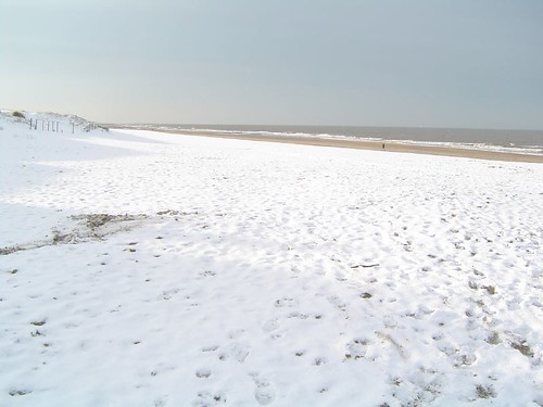 sneeuwstrand!