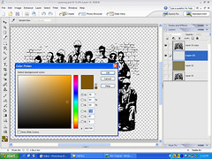 Photoshop Colouring Practice 4 - Recalling colours