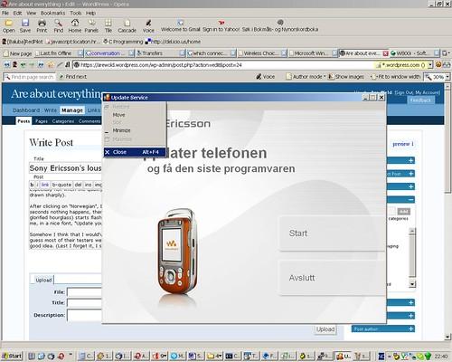 TÉLÉCHARGER LOGICIEL SONY ERICSSON T630 AVEC DATA CABLE USB