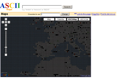 ASCII Maps