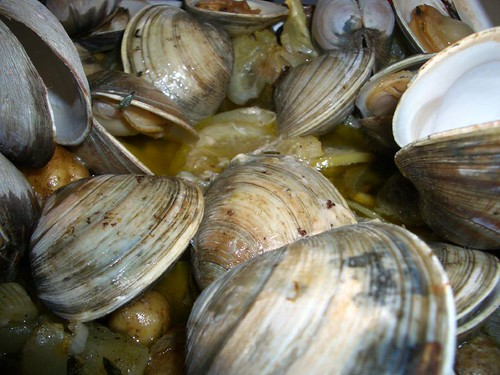 Is it just me, or are clams the most beautiful, tasty seafood out there?