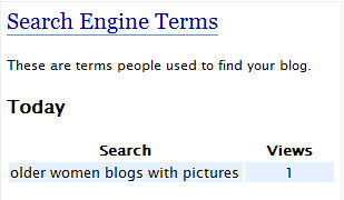 Another funny search term