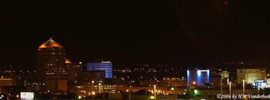 Albuquerque Evening Skyline