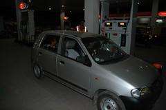 Getting petrol