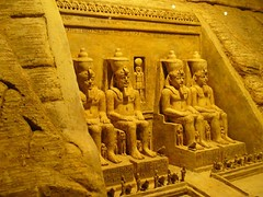The Abu Simbel Replica