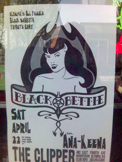 Black Bettie Poster