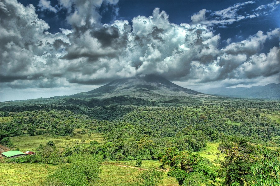Billowy Volcano