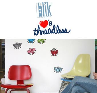 Design Competition: Blik Loves Threadless