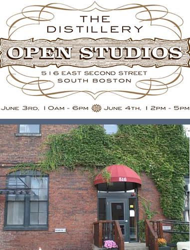 Distillery Open Studios: South Boston June 3-4