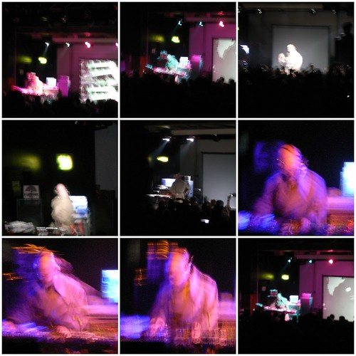 Blurred Scenes From A Thomas Dolby Gig