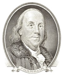 Ben Franklin, the original open saucey badass
