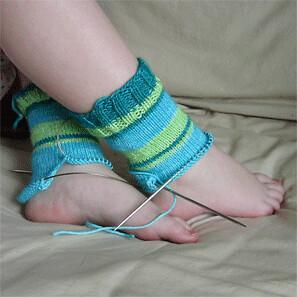 koolaid dyed socks for DD