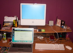 iMac New - Powerbook Old