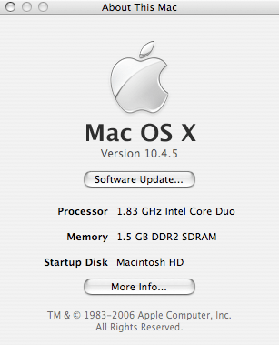About This MacBook Pro