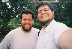 Me and Matt near the Publix Cache