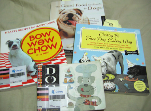 Cookbooks for the dogs