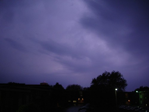 The bluest light.