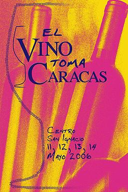 El Vino toma Caracas