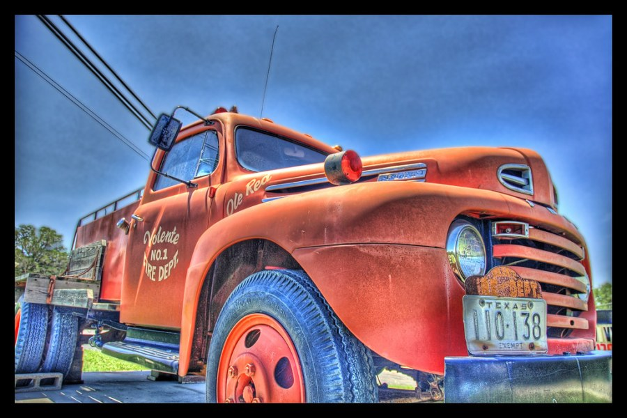 Ole Red, the Texan Fire Truck