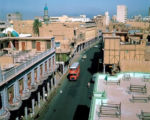 Baghdad rooftops