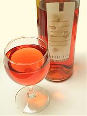 Wine Glass and Wine