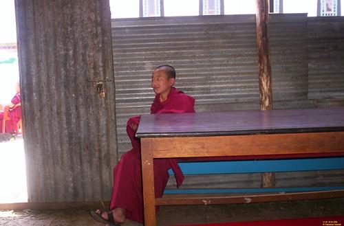 Sleeping Monk boy