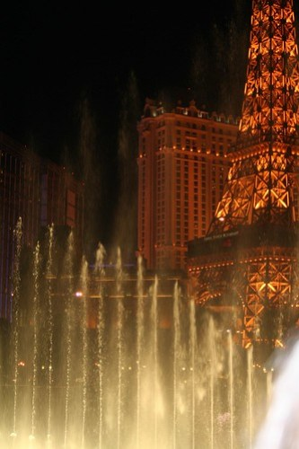 Fountains and The Eifel Tower