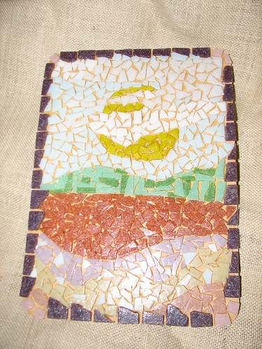 Placemat in glass