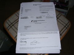 My Share Certificate