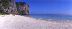 Beach at noon