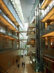 New central library atrium