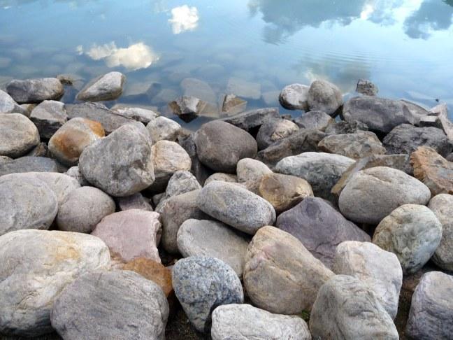 Stones of Lake Louise