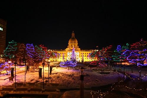Holiday Lights at the Legislature