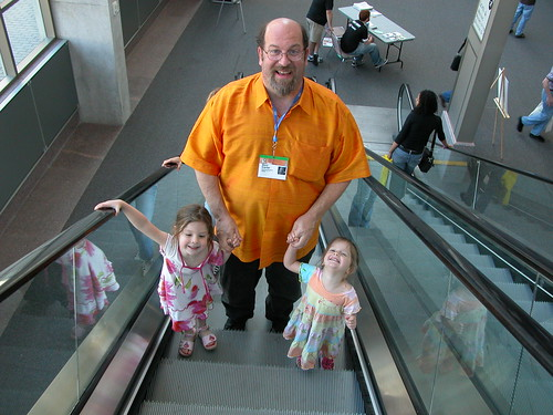 Marc Canter and his girls at SXSW