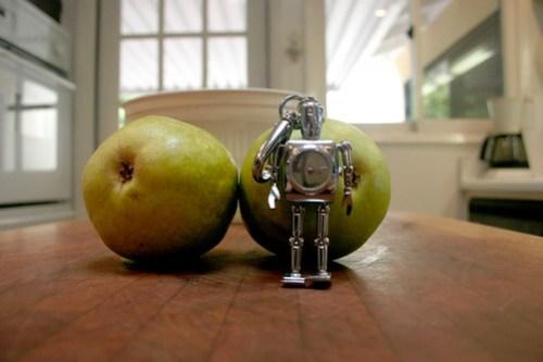 Robot Keychain Watch #2