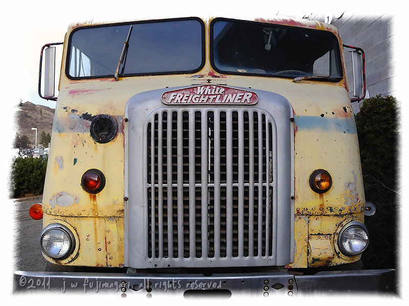Early 50s White Freightliner