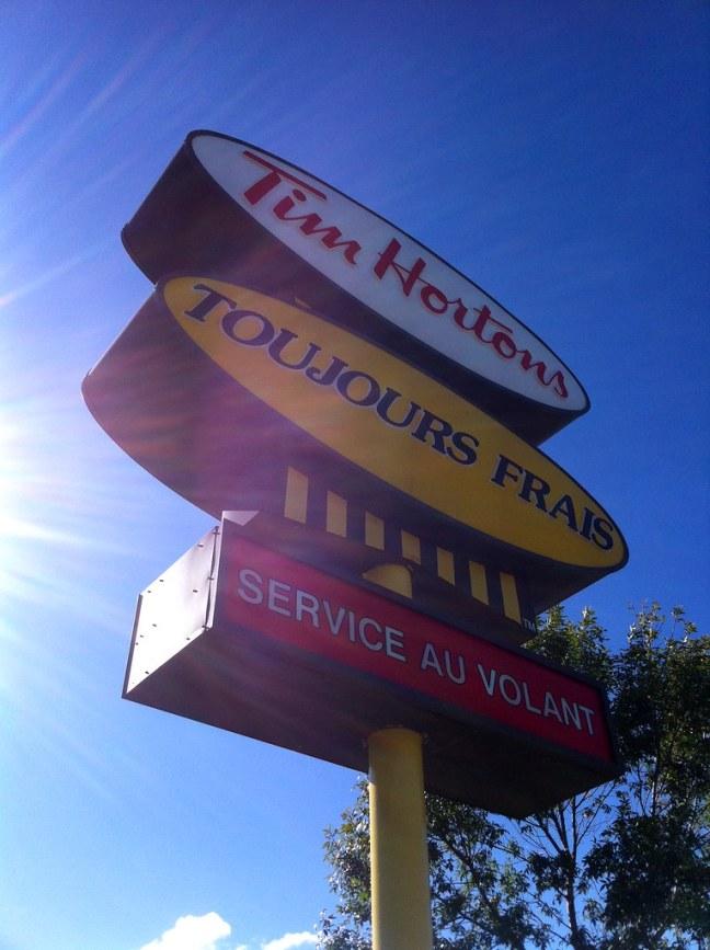 Tim Horton's Drive-thru